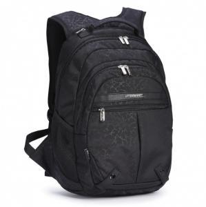 Школьно-городской рюкзак Черный мрамор