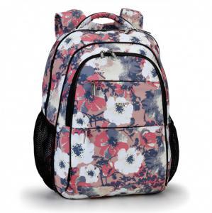 Рюкзак школьный с размытыми цветами