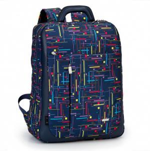 Вместительный рюкзак с графическим принтом