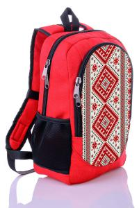 Рюкзак красный Орнамент
