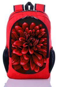 Рюкзак красный Цветок