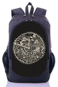 Рюкзак серый Часы