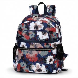 Городской  рюкзак цветы
