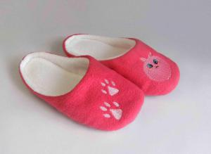 Тапочки розовые лапки