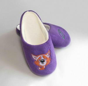 Тапочки фиолетовые