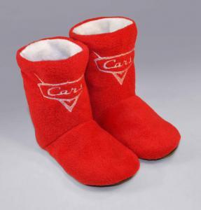 Тапочки-сапожки красные Тачки
