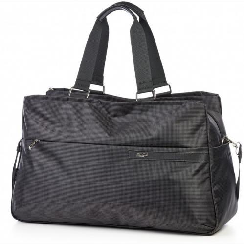 Дорожная непромокаемая черная сумка