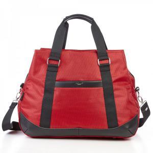 Дорожная непромокаемая красная сумка