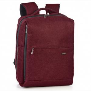 Рюкзак городской вместительный бордовый