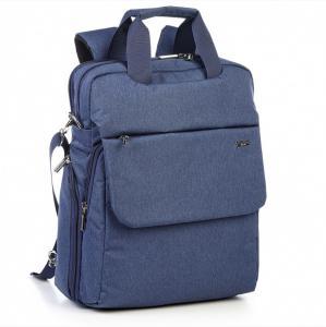 Рюкзак-сумка городской вместительный темно-синий