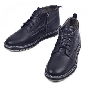 Ботинки Вебстер в синей, черной, коричневой коже