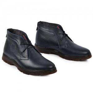 Ботинки НФ в синей и черной коже