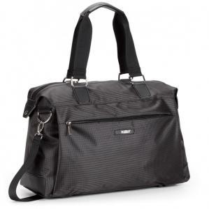 Компактная дорожная сумка черная
