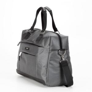 Компактная дорожная сумка серая