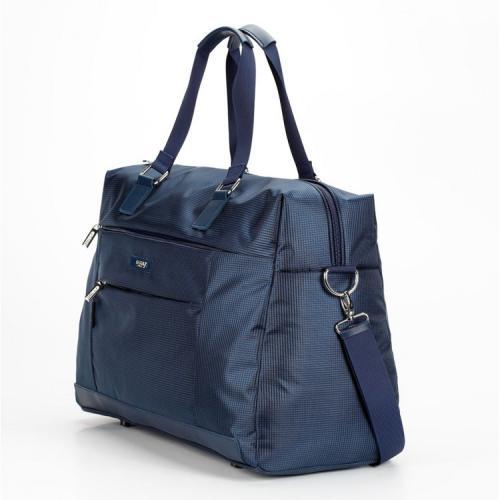 Компактная дорожная сумка синяя