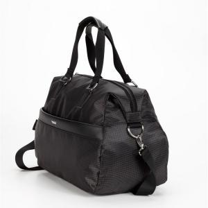 Дорожная сумка овальная черная