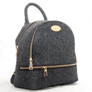 Сумка -рюкзак войлочный